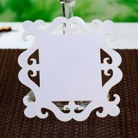 50x Wedding Place Cards For Wine Glass Wedding Decoration Accessories Party Favors