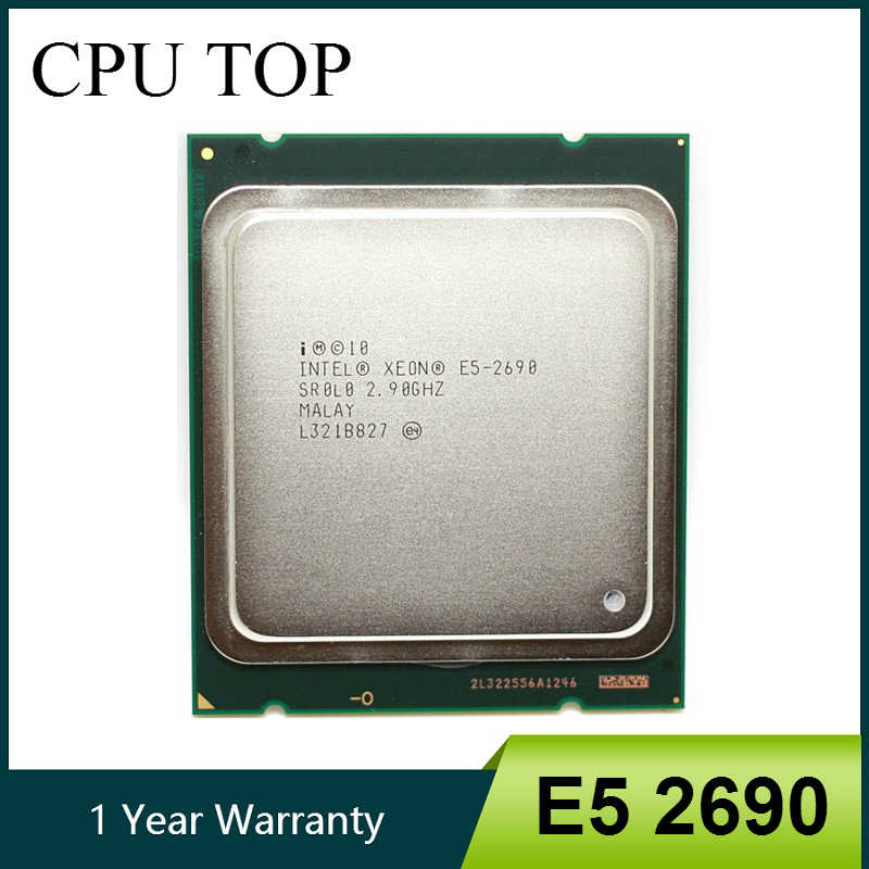 intel Xeon E5 2690 Processor 2.9GHz 20M Cache LGA 2011 SROLO C2 E5-2690 server CPU