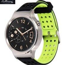 18 мм силиконовой резины запястье ремни браслет для Huawei Часы Fit совместим с любым 18 мм традиционные Smart часы трекер