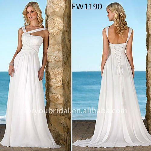 Popular Grecian Style Wedding Dresses-Buy Cheap Grecian Style ...