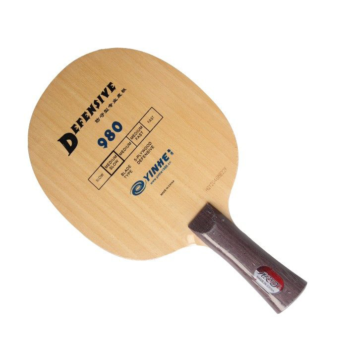 YINHE Galaxy 980 (Defensive, Chop Play) Table Tennis Blade Chop Racket Ping Pong Bat Paddle yinhe table tennis balde ping pong racket dragon god national team 1986 dragon 8s limited racket alc
