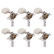 Andoer 6pcs Acoustic Guitar String Tuning Peg Tuner Machine Head