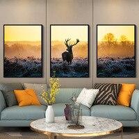 3 шт. Художественный набор фоторамок Nordic Стиль Гостиная фоторамки диван стене висит росписи фоторамки marcos para fotos