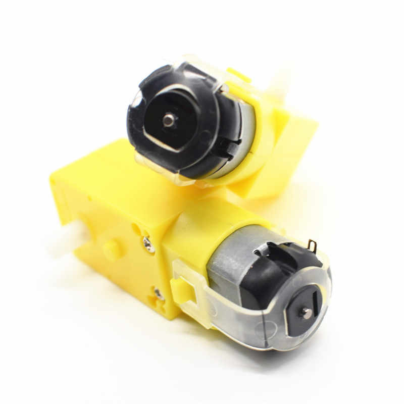 1x DC3V-6V DC Motorreductor TT Voor Robot Smart Chassis DIY anti-interferentie