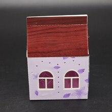 AZSG 3D small house Cutting Dies for DIY Scrapbooking dies Decoretive Embossing Stencial Decoative Card die cutter