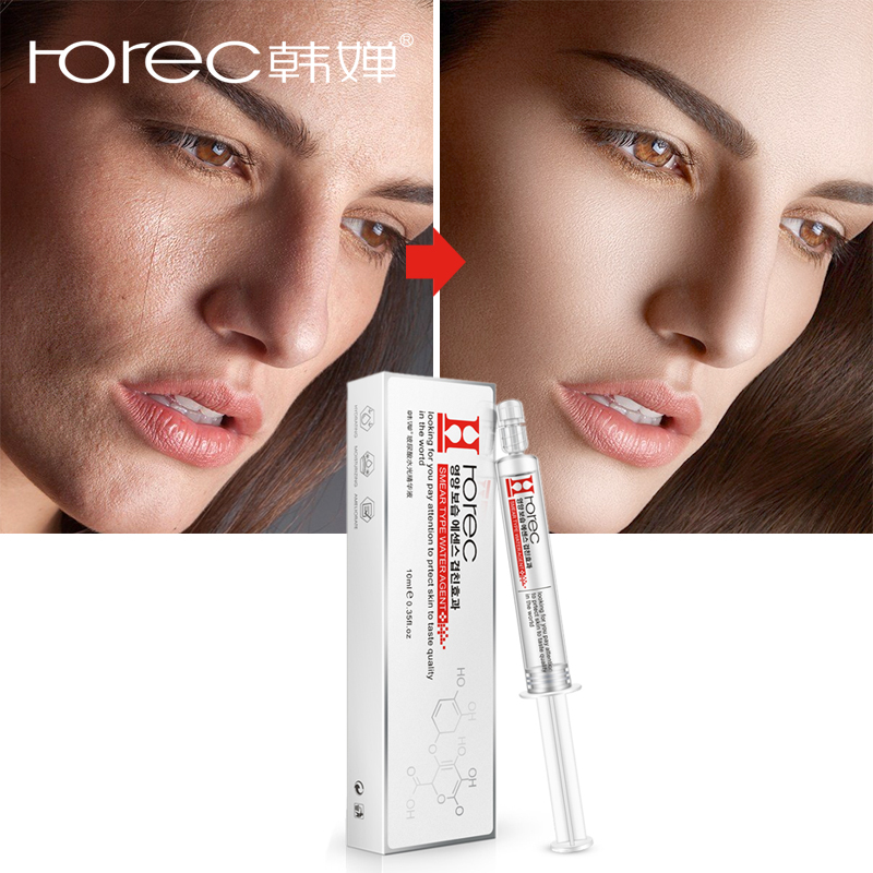 ROREC Hyaluronsäure Injection Gesicht Serum Flüssigkeit Strumpfhosen Anti-Falten Anti Aging Kollagen Facail Essenz Feuchtigkeitsspendende Bleaching