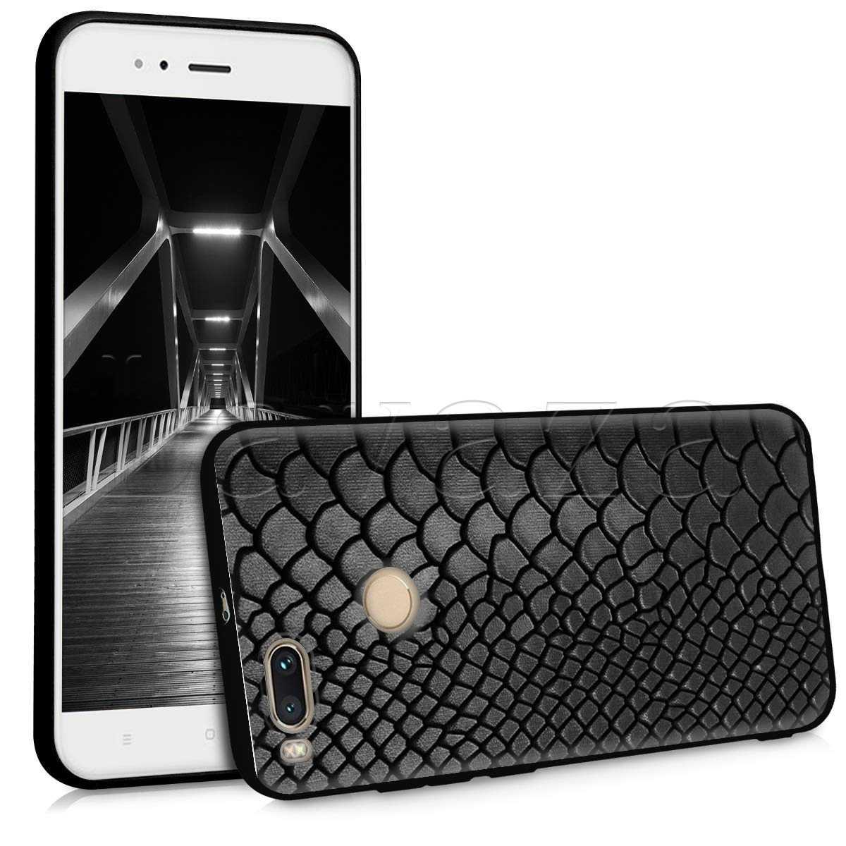 Lavaza Da Rắn Ốp Lưng Silicon Xiaomi Redmi Note 4 4X 4A 5 5A 6 6A 7 8 Pro Đi prime Plus