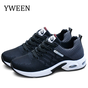 YWEEN Fashion 2020 Men Casual Shoes Autumn Outdoor Breathable Walking Shoes Men Sneakers Mesh Shoes Non-slip Students Shoes 1
