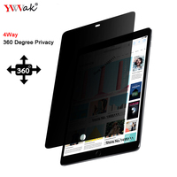 PET 360 degree Privacy Filter For apple iPad Pro 12.9 inch, Anti glare Screen protector Protective film