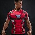 Iron Man T Shirt Captain America Civil War Tee 3D Printed T-shirts Men Marvel Avengers 3 Short Sleeve Fitness Clothing Male