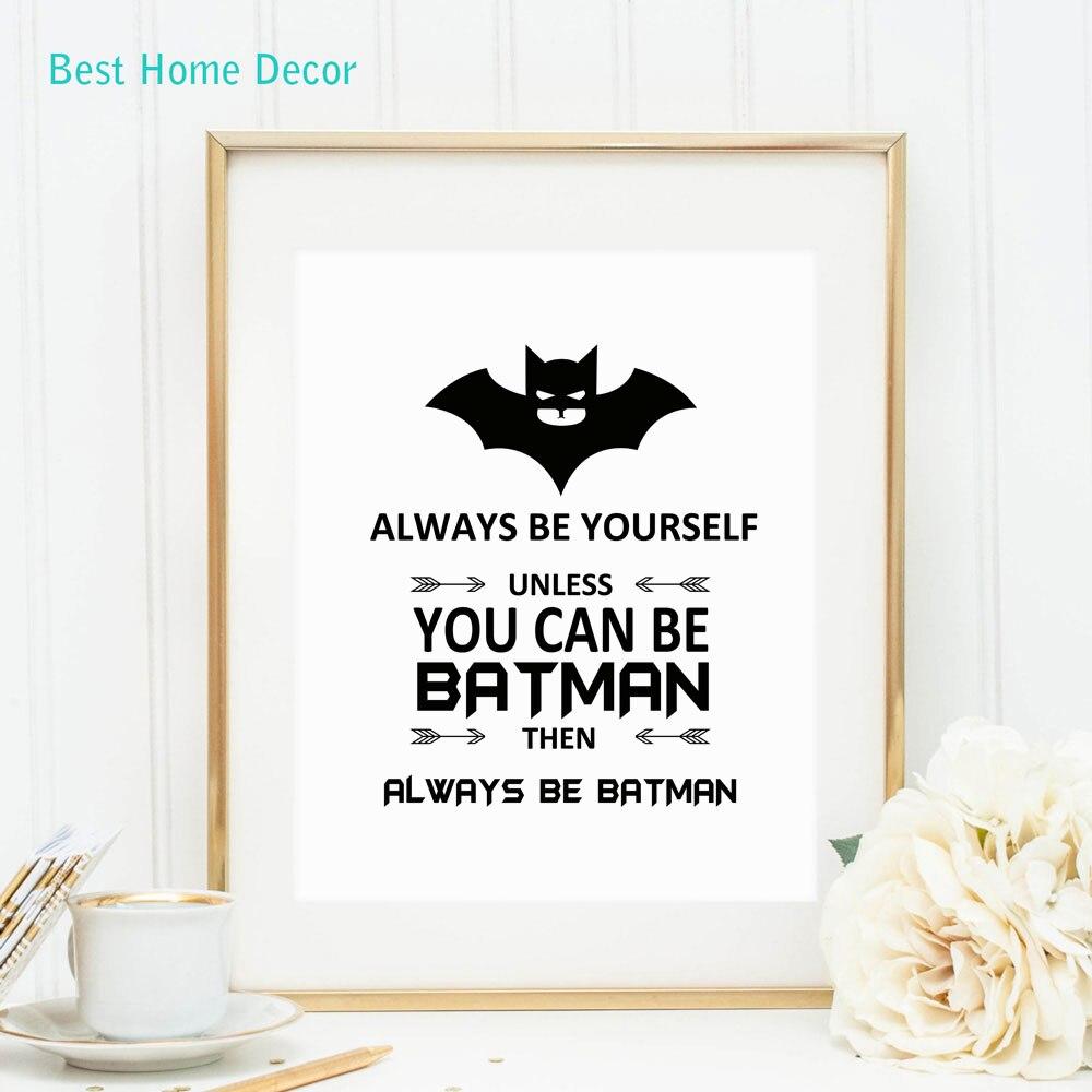 Batman ola bilməyəcəksinizsə həmişə özünüz - Ev dekoru - Fotoqrafiya 2