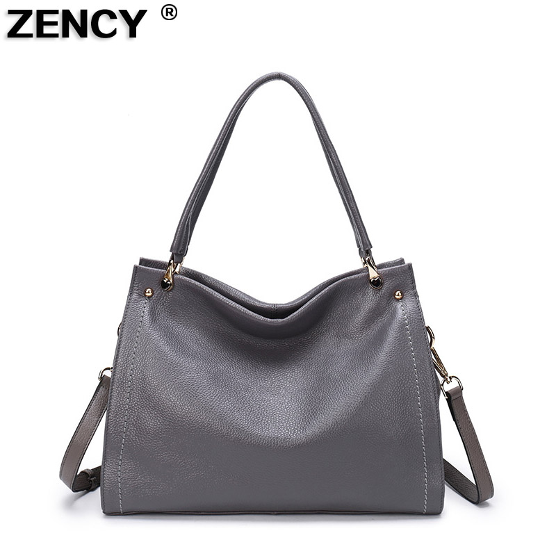 2019 Fast Shipping New 100 Genuine Leather Women s Long Handel Shoulder Bag Handbag Cross Body