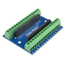10 PCS Nano Terminal Adapter for the Arduino Nano V3.0 AVR ATMEGA328P-AU Module Board