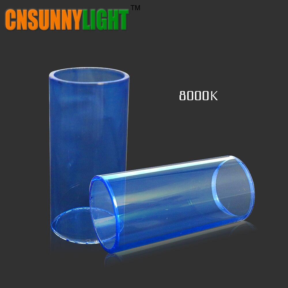 CNSUNNYLIGHT Voiture Ampoule En Verre tubes 3000 K 4300 K 8000 K Remplacer Films Filtres Spécial pour Auto Led Phare Kits dans Notre magasin