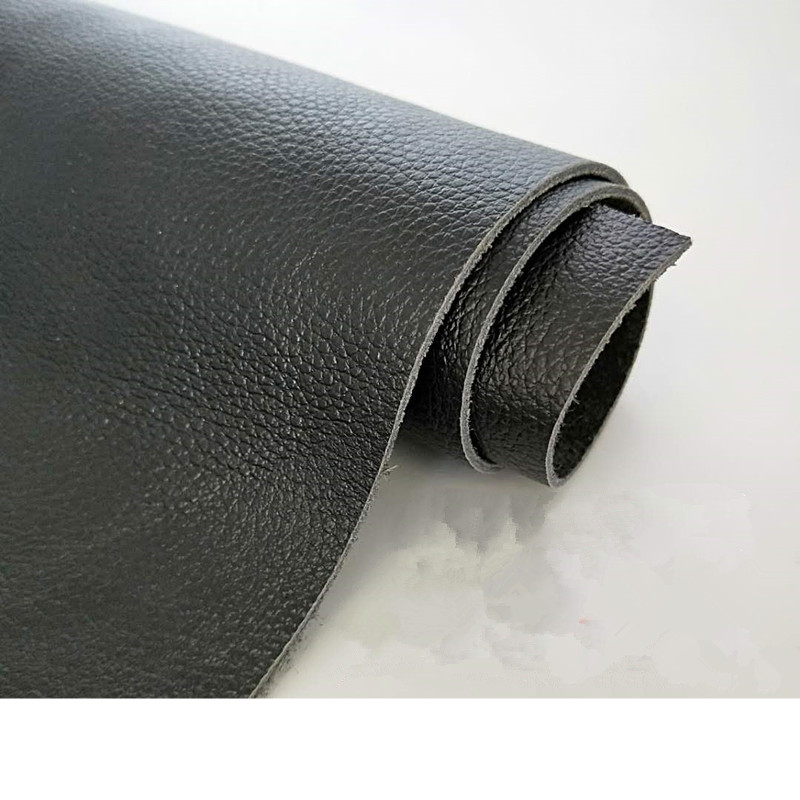 Cowhide   leather   black fabric   leather     suede     leather   handmade diy soft sofa   leather   fabric