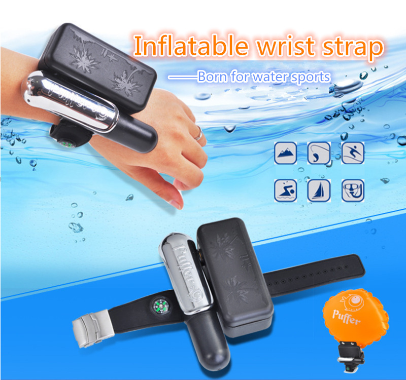 Inflatable wrist strap Wearable Wristband Water Safety Wrist Life Buoy Escape Lifesaving wristband Self Rescue BraceletInflatable wrist strap Wearable Wristband Water Safety Wrist Life Buoy Escape Lifesaving wristband Self Rescue Bracelet