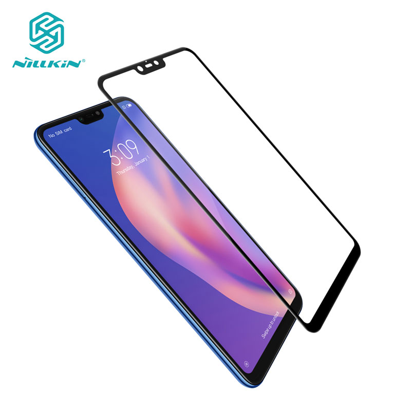 Für Xiaomi Mi 8 Lite Gehärtetem Glas Nillkin CP + 2.5D Volle Abdeckung Screen Protector Glas für Xiaomi Mi8 Lite Mi 8 Lite