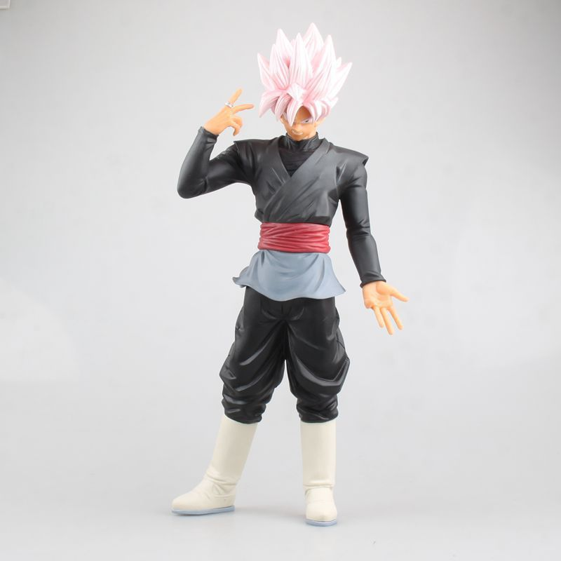 Anime Dragon Ball Z ROS Resolution of Soldiers Son Gokou Super Saiyan Son Goku PVC Action Figure Collectible Model Toy Doll 32cm world of warcraft wow pvc action figure display toy doll dwarven king magni bronzebeard