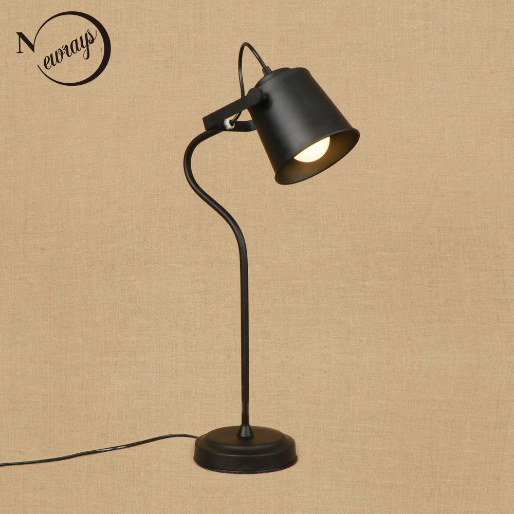 Modern Colorful Brief Nordic Style Table Lamp E27 LED Light Desk Lamp With Switch For Office