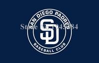 MLB San Diego Padres Baseball Club Flag New 3x5ft 90x150cm Polyester Flag Banner 7073 Free Shipping