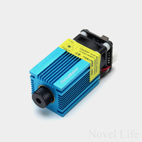 500mW 1600mW 2500mW 5500mW Focusable Laser Diode Module With Heatsink Cooling Fan For Eleksmaker Laser Engraving