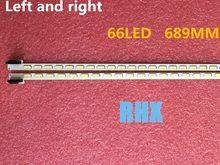 4 3D55A4000iC peças/lote PARA Changhong TV LCD backlight bar 6922L-0003A 6922L-0004A LC550EUN 6920L-0001C 66LED Esquerda + direita 689 MILÍMETROS