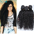 Burmese Virgin Hair 6A Grade Human Hair Extensions Unprocessed Kinky Curly Virgin Hair 3 Bundle Deals Rosa Queen Hair Products