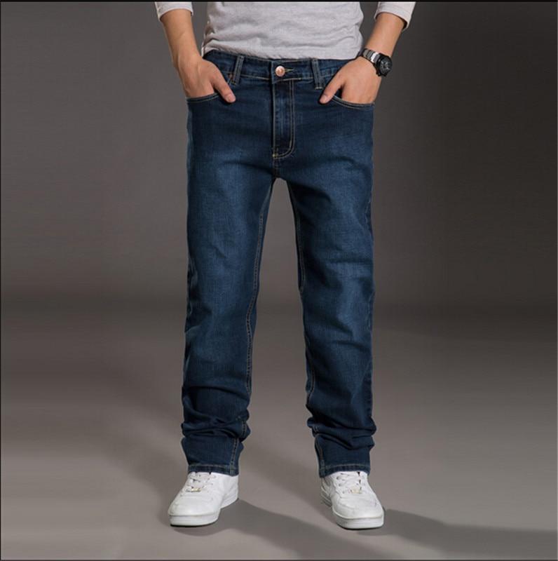 ФОТО Plus size 30-48  Jeans men's baggy jeans plus size hip hop skateboard pants washes