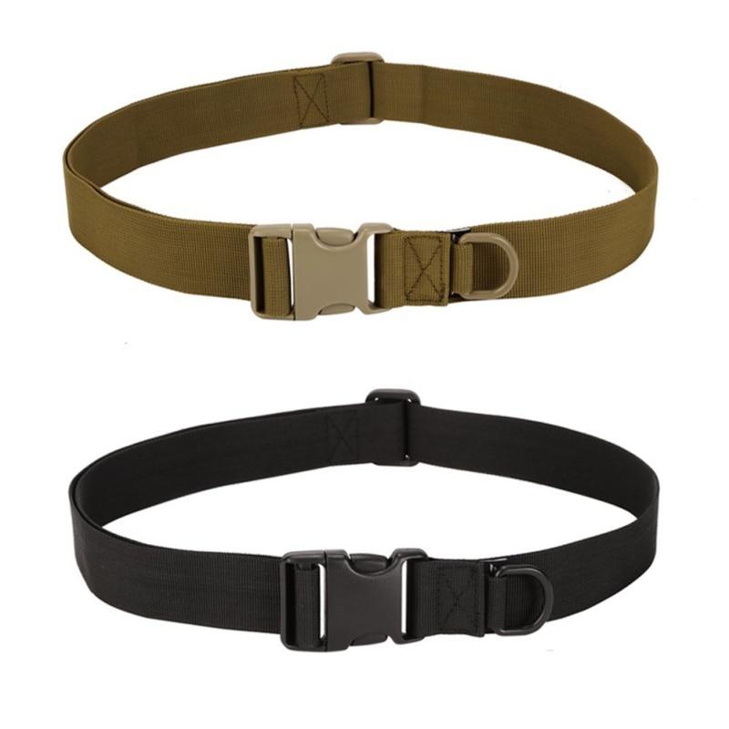 Simple Tactical Belt Outdoor Equipment Wear Bag Riding Inside Nylon Bag Deputy Military Fans Belt Fastening Tape