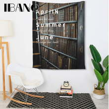IBANO Fashional Inspirational Letter Tapestry Art Wall Hanging Blanket Home Decoration for Bedroom Dorm Yoga Mat Table Cloth