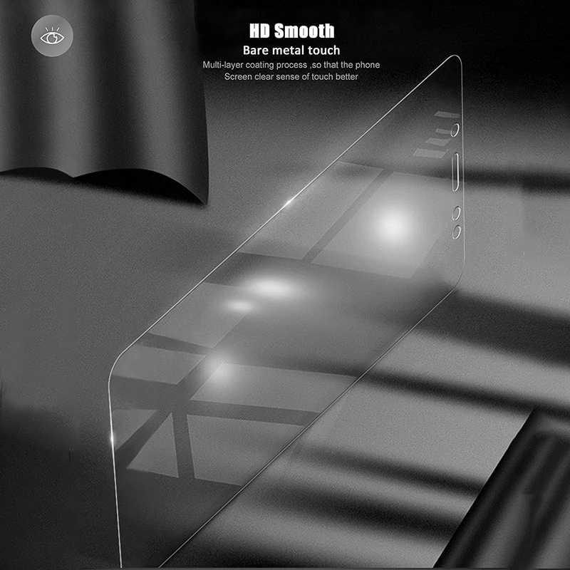 4 قطعة/الوحدة الزجاج المقسى لسامسونج غالاكسي S7 S6 S5 J5 J3 J7 2017 2016 2015 J510 J520 J720 واقي للشاشة طبقة رقيقة واقية