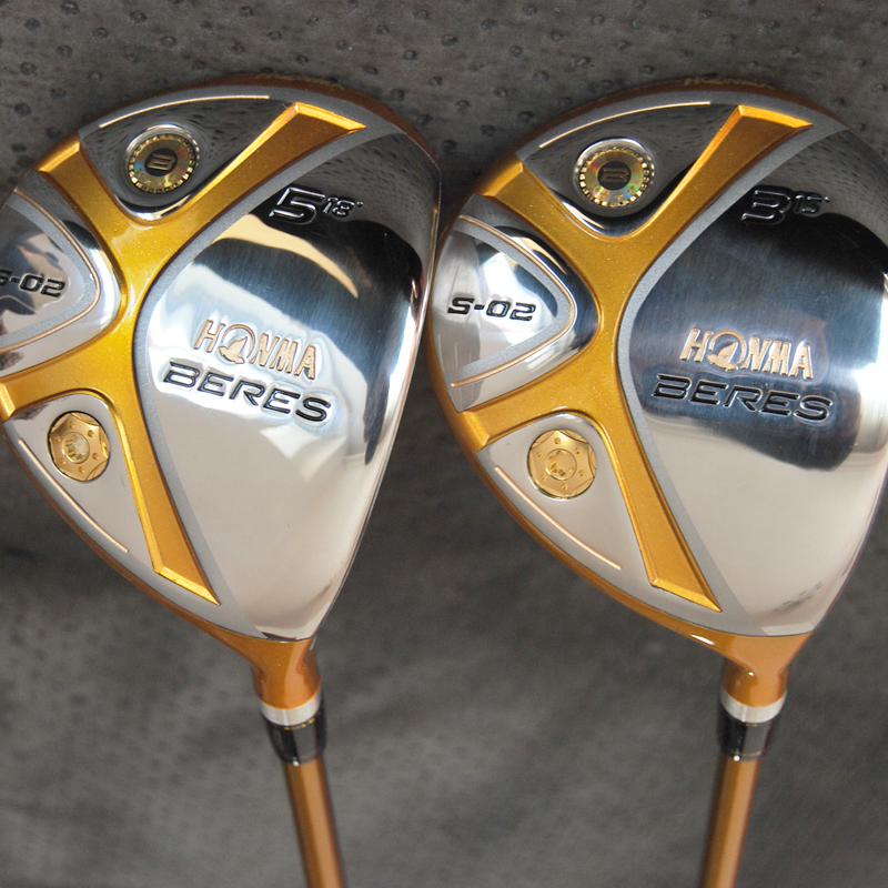 Cooyute nuevos mens golf clubs honma s-02 golf fairway woods, set 3/15 5/18 De G