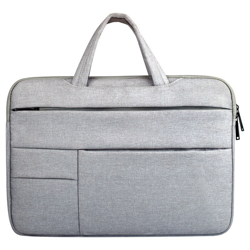 Fashion Casual Briefcase Waterproof Crushproof 14 Inch Notebook Computer Laptop Bag For Men Women Briefcase