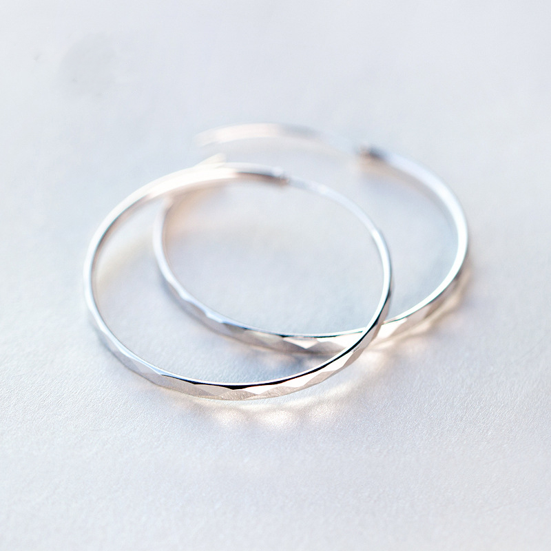 PINJEAS Dainty earrings Hoops Earrings Big minimalism Simple fashion basketball Large Drop For Women Party Gift