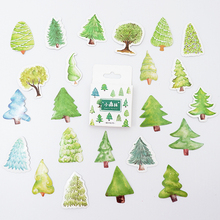 46 pcs/pack Cute Small forest paper sticker DIY diary album decoration stickers scrapbooking planner label Scrapbook
