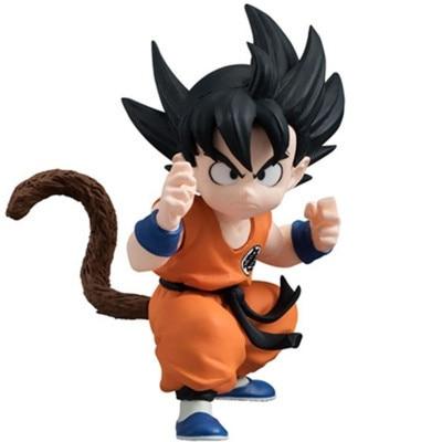 dragon ball z action figures son goku child super saiyan pvc 80mm anime dragon ball figures
