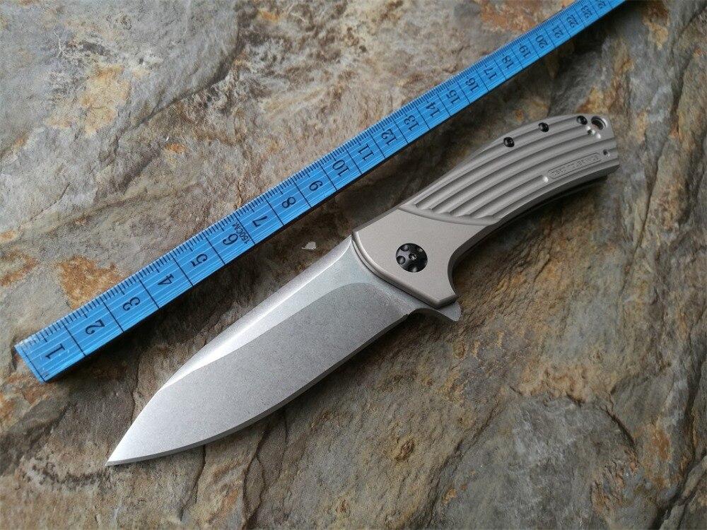 High quality mini font b folding b font font b knife b font 0801 ELMAX Stone