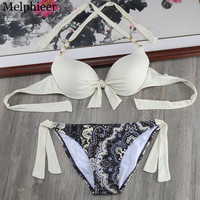 Fringe Beach Style Bathing Suit Korean Luxury High Street Slim Push Up Bikini Sets Fresh Swimwear