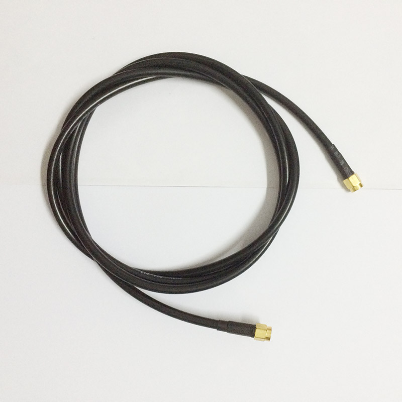 ALLISHOP WiFi Wireless Antenna Extension Cable  RP-SMA Male to SMA Male Connectors - Ultra Low Loss 8M allishop 5m antenna rp sma female to male extension cable for wi fi wi fi router lmr195 low loss