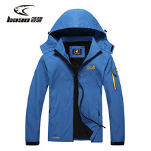 LXIAO Men Hiking Jacket Outdoor Coat Waterproof Jacket Men Windbreaker Breathable Rain Coat Camping Spring Autumn Drop Shipping hot sale 2017 breathable anti abrasion chaqueta hombre hiking camping coat outdoor sport jacket men windbreaker manteau homme
