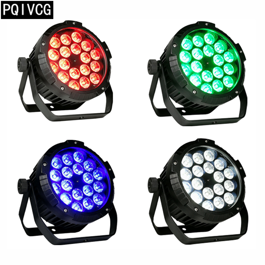 new 4pcs 18x12w outdoor waterproof led par light dmx 4 8ch waterproof led ip65 Waterproof led
