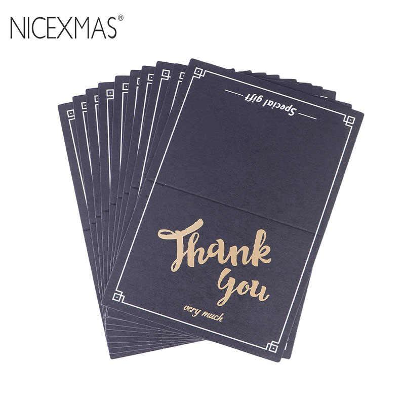 Nicexmas 10 Uds Tarjetas De Felicitación Tarjetas De