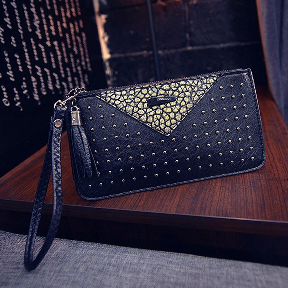 цена 2017 Carteras Mujer Women Wallet Clutch Wallet Female Case Phone Carteiras Femininas Money Bag Purse Card Holder Vintage Purse онлайн в 2017 году