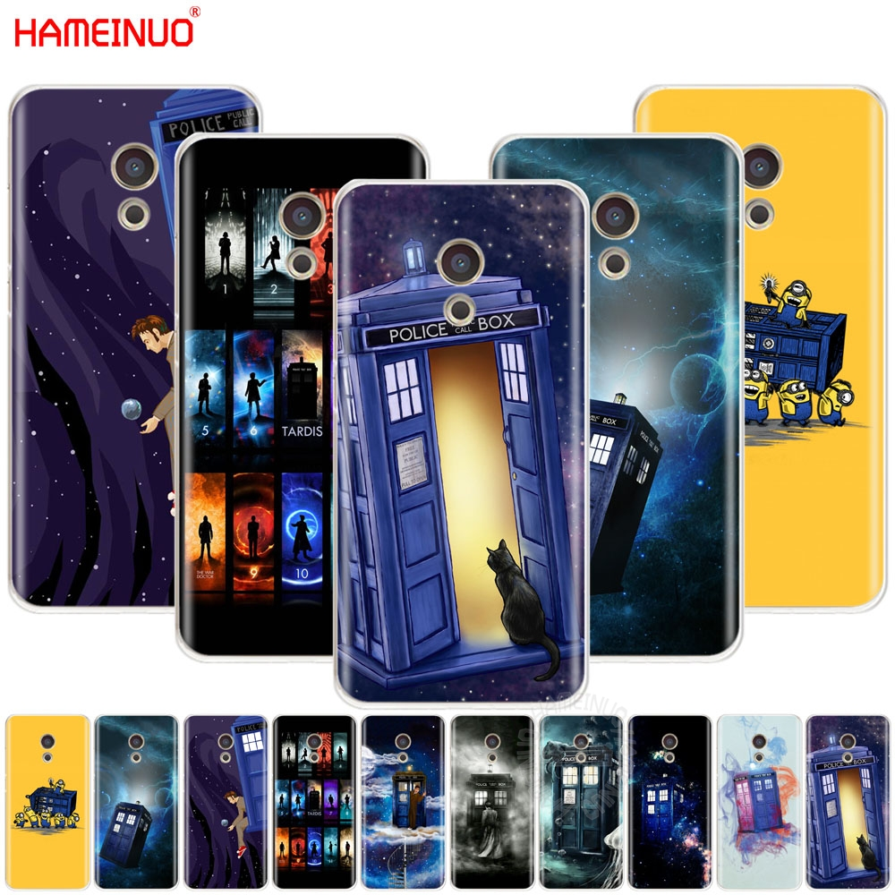 For Samsung Galaxy S3 S4 S5 Mini S6 S7 Edge S8 S9 Plus Note 2 3 4 5 8 Silicone Phone Shell Cases Tardis Doctor Dr Who Police Box Modern Techniques Phone Bags & Cases Half-wrapped Case