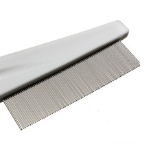 Pet Hair Grooming Comb Flea Shedding Brush Puppy Cat Dog Stainless Comb