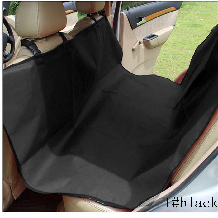 car pet seat covers Universal waterproof hammock style scratch proof 600D Oxford fabric easy use Wh