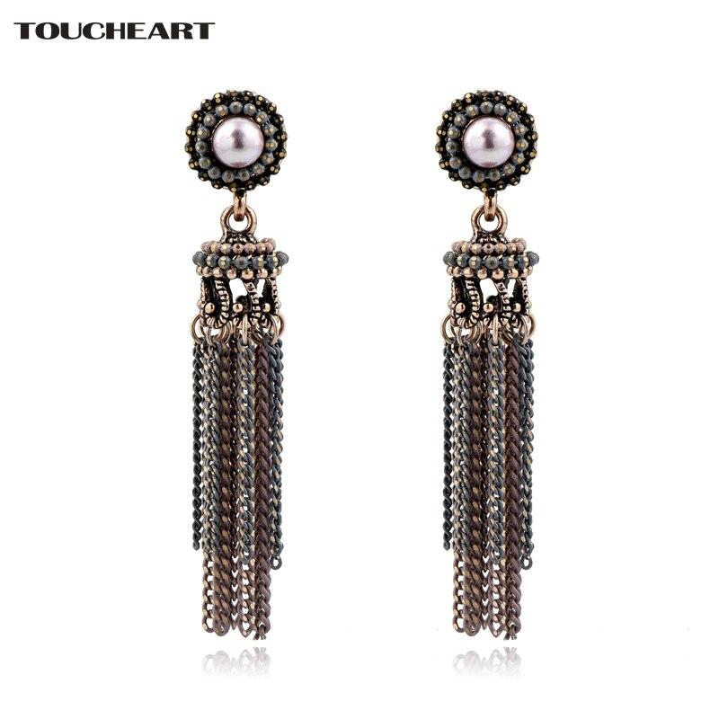 Купить модные жемчужные серьги toucheart модные ювелирные изделия подарки