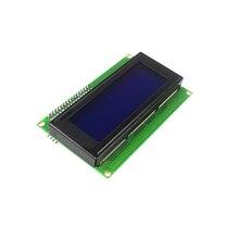 ЖК-дисплей модуль Дисплей Мониторы ЖК-дисплей 2004 2004 20*4 20×4 5 В Характер синий Подсветка Экран и IIC I2C для Arduino DIY Kit