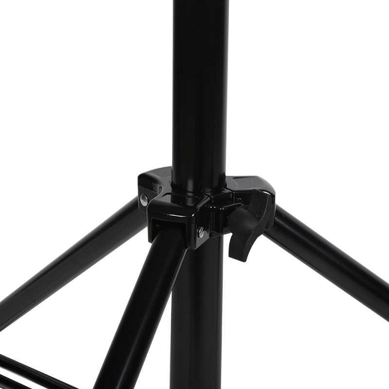 Фотолампа держатель 4 метра двойного назначения кронштейн лампы вспышки, потолочная лампа консольный стеллаж, три штатив для фотографии CD50