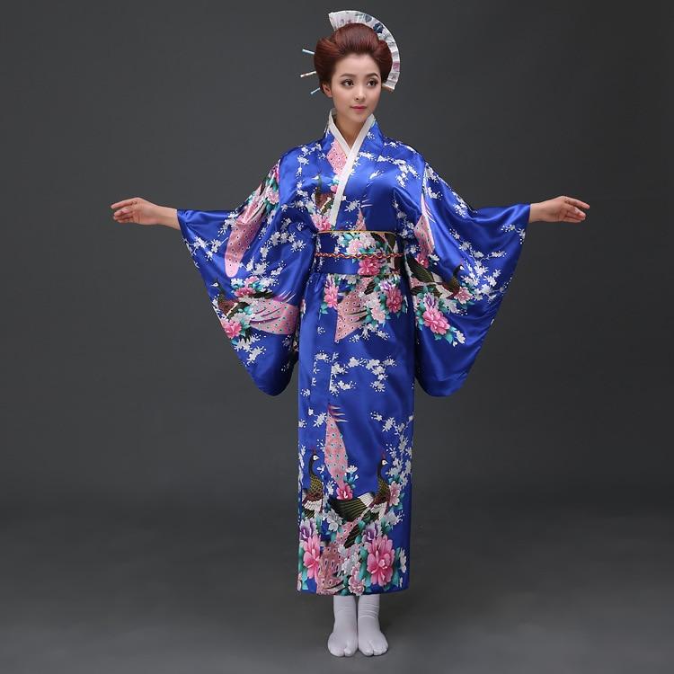 Kimono Jepun Kimono Tradisional Wanita Kimono Pakaian Wanita Yukata - Pakaian kebangsaan - Foto 6